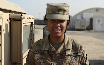 35th Infantry Division Holiday Greetings-Private First Class Simone Collins
