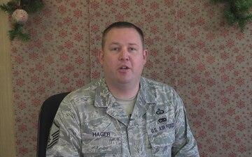 Master Sgt. Adam Hager