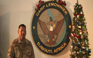 MSgt. Edwin Muzo Holiday Greeting, Clifton, VA
