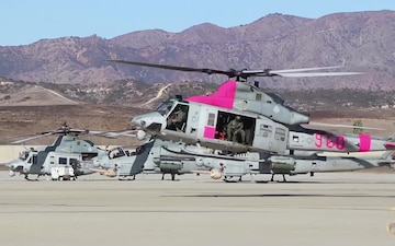 Camp Pendleton Assists With Lilac Fire