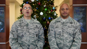 Buckley Command Holiday Message