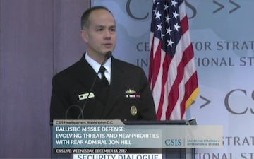 Ballistic Missile Defense Discussion at Center for Strategic and International Studies