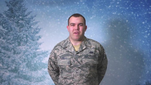 A1C Tyler Parnell Holiday Greeting