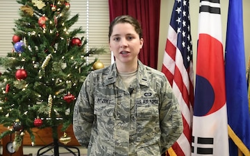 2017 Holiday Greeting: 1LT Megan Ritzert