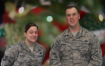 Tech. Sgts. Wyman Holiday Greeting