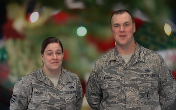 Tech. Sgts. Wyman Holiday Shout-out