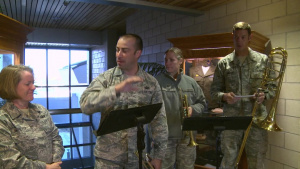 U.S. Air Force Band of the West Visits Goodfellow