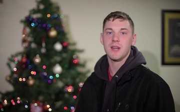 SSgt Bradley Suire Holiday Greeting