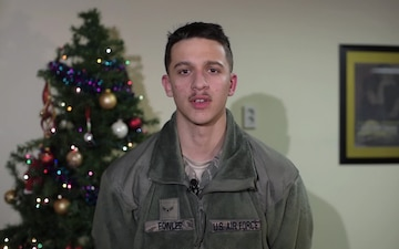A1C Clayton Fowler Holiday Greeting