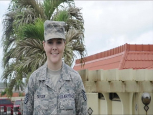 SSgt Miranda Taylor Holiday Greeting