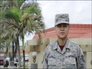 TSgt Tiana Guerrero Holiday Greeting