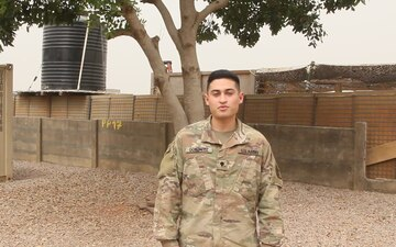Spc. Christopher Gonzalez