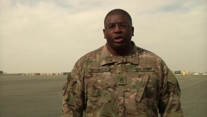 Staff Sgt. Charles Duckworth Holiday Shoutout