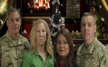 USARCENT Command Group Holiday Greeting