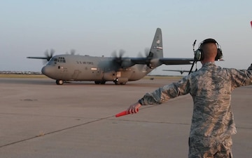 317th Airlift Wing Hurricane Irma Support B-Roll