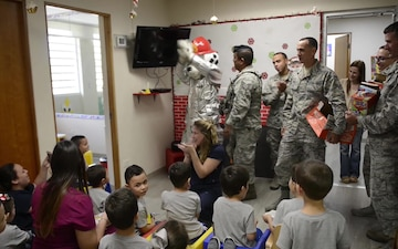 BROLL: Airmen from the 156th AW Distribute supplies to 'Hospital Del Nino de San Juan'