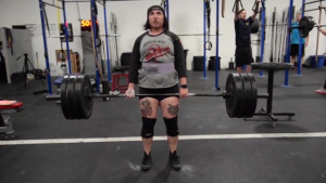 Female Power Lifter