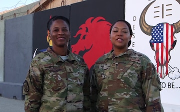 SMSgt. Felicia Whitlow, MSgt. Rosie Smoots - Midland, TX - Happy Holidays