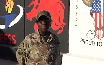 SSgt Bridgette LeBlanc - Hampton, VA - Happy Holidays