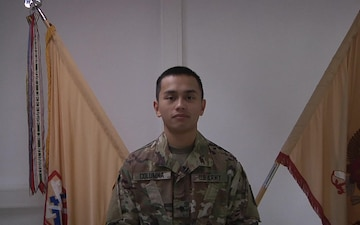 SPC Columna Sends Greetings to Family