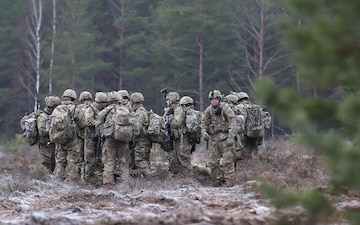 U.S. Army Europe - Rapid Response Exercise - Lithuania