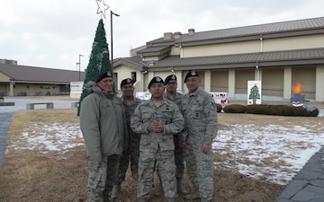 254 SFS Guam ANG Holiday Greeting from Kunsan AB, ROK