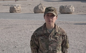 "Staff Sgt. Jennifer Billings' Christmas/Holiday ""Shout Out"""