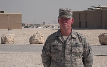 """Tech. Sgt. Michael Bouis' Christmas/Holiday """"Shout Out"""""""