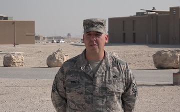 "Senior Master Sgt. Dean Burlew's Christmas/Holiday ""Shout Out"""