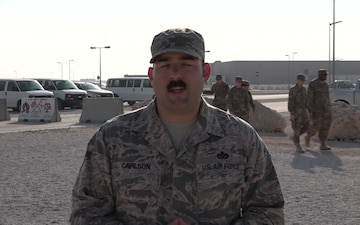 "Master Sgt. Robert Carlson's Christmas/Holiday ""Shout Out"""