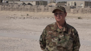"""Lt. Col. Robin Cavanaugh's Christmas/Holiday """"Shout Out"""""""