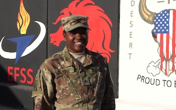 SGT Myka Gilmore - Dallas, TX - Merry Christmas and Happy New Year