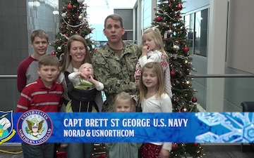 Capt Brett St George NORAD Tracks Santa