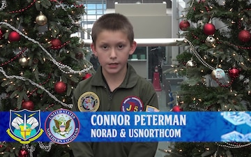 Connor Peterman NORAD Tracks Santa