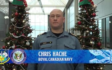 Chris Hache NORAD Tracks Santa