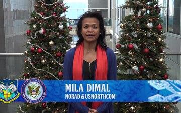 Mila Dimal NORAD Tracks Santa