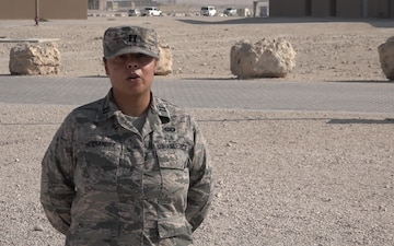 "Capt. Belitza Hernandez Gives a Christmas/Holiday ""Shout Out"""