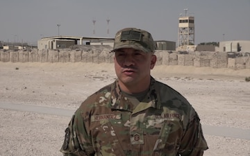 "Master Sgt. Edward Hernandez Gives a Christmas/Holiday ""Shout Out"""