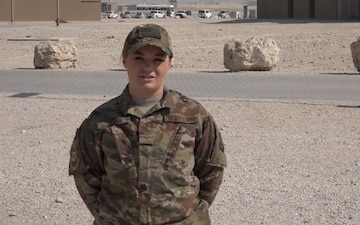 "Staff Sgt. Katherine Jarvis' Christmas/Holiday ""Shout Out"""