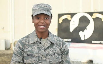 Senior Airman Markeis Simon