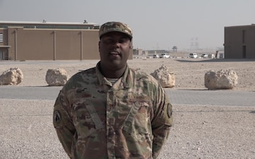 "Tech. Sgt. James Lewis' Christmas/Holiday ""Shout Out"""