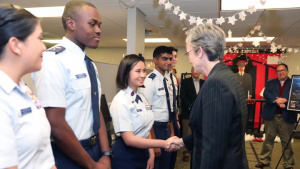 Secretary of the Air Force Heather Wilson Visits Maxwell AFB, Air University