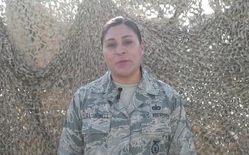 Tech Sgt.  Hope Lira-Howell