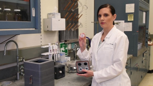 NRL Chemist Develops Device to Train Canine Units