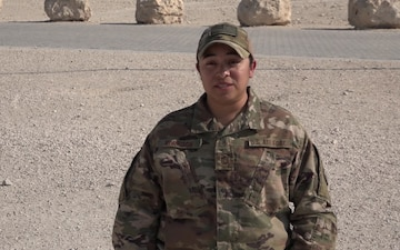 "Master Sgt. Marissa Morrison's Christmas/Holiday ""Shout Out"""