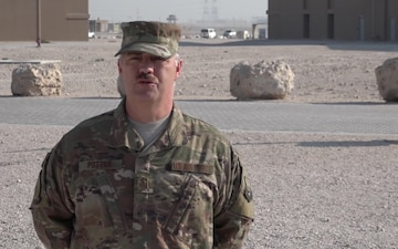 "Senior Master Sgt. Robert Potter's Christmas/Holiday ""Shout Out"""