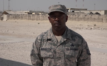 "Senior Master Sgt. Angelo Washington's Christmas/Holiday ""Shout Out"""