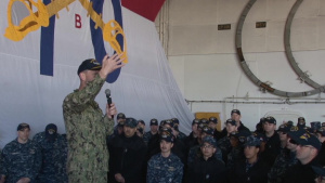 CNO AHC Onboard USS Ronald Reagan (CVN-76)