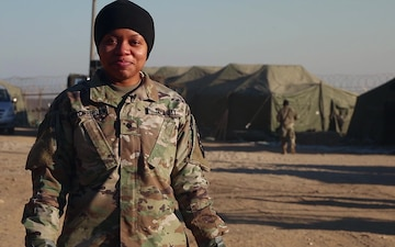 Greetings from Spc. Onika Hickerson
