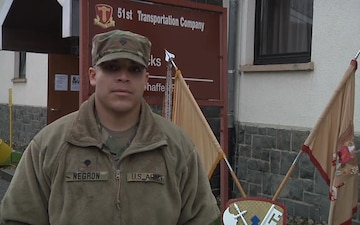 SPC Negron sends greetings to family
